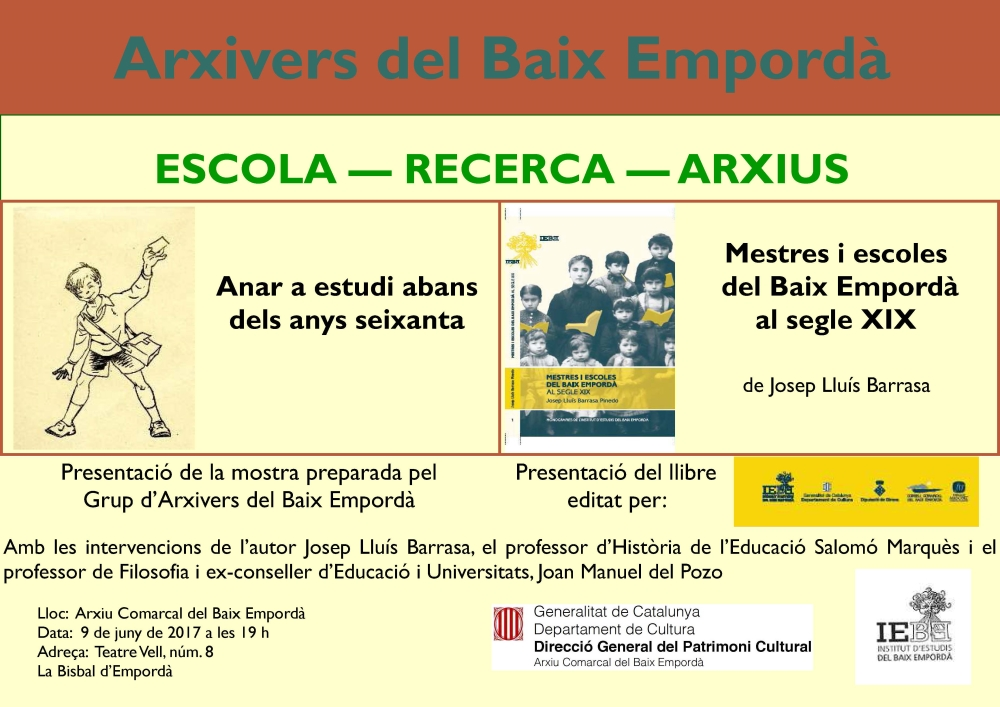 Cartell - arxivers BE 2017 bis